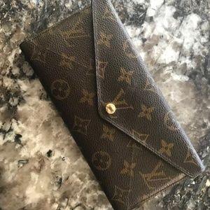 Louis Vuitton Monogram Long Origami Wallet